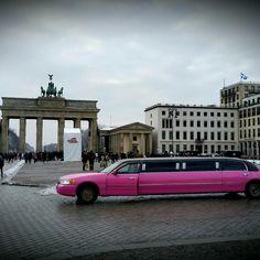 #Berlin #BrandenburgerTor #pink