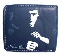ENTER THE DRAGON KARATE STYLE 5 POCKET/ CLEAR ID SLOT WALLET MMA BOXING KARATE #KUNGFU