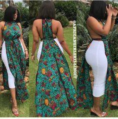 African summer dress / african print maxi dress / ankara maxi dress / African clothing for women / ankara women clothing / african kitenge African Dresses For Kids, African Maxi Dresses, Latest African Fashion Dresses, African Print Fashion, African Attire, African Wear, African Women, Ankara Fashion, Africa Fashion