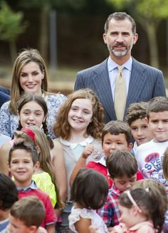 Tuesday, September 16, 2014 King Felipe and Queen Letizia attended the Opening of the School Courses in Orense, Spain