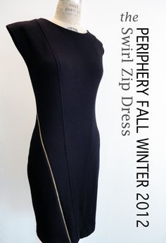 Periphery Fall 2012 Swirl Zip Dress