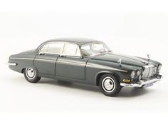 This Jaguar 420 G (1967) Resin Model Car is Dark Green. It is made by Neo and is 1:43 scale (approx. 10cm / 3.9in long).  ...
