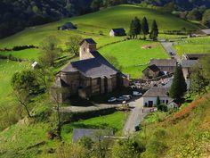Ste Engrâce, Haute Soule, Pays basque, Pyrénées Atlantiques, Aquitaine, France