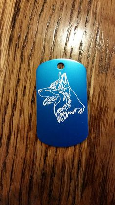 Check out this item in my Etsy shop https://www.etsy.com/listing/269445428/german-shepard-dog-tag