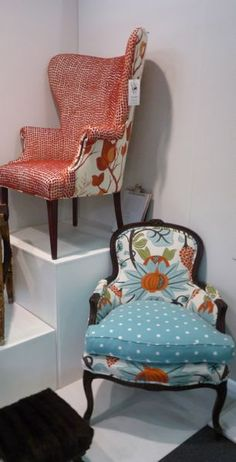 chairs - two-toned