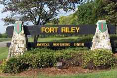 Go Army! Fort Riley, Kansas