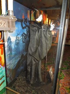 Maleficent movie costume side detail