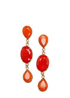 MANGO - TOUCH - Stones long earrings
