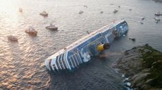 Costa Concordia, captain failure (January 2012)