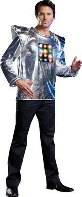 Adult Robot A Boom Robot Costume - Large. From #Dreamgirl. List Price: $49.99. Price: $35.00