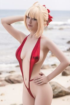 This is One Sexy Fate/Extra Saber Cosplay | All That's Epic | Epic ...