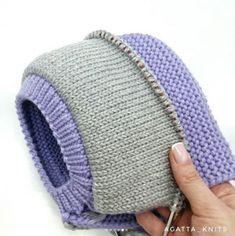 Diy Crafts Knitting, Knitting For Kids, Baby Knitting, Crochet Baby, Knit Crochet, Kids Poncho Pattern, Crochet Flower Tutorial, Crochet Beanie Hat, Knitted Gloves