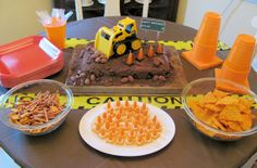 construction birthday party | Construction birthday party theme | JenSpends.com