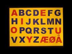 ABC sangen (the Danish Alphabet) - YouTube