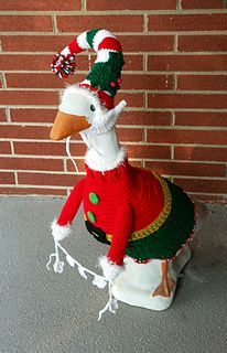 Jolly Elf Goose Outfit Pattern By Jenny Miller Goose Clothes Elf Clothes Goose Costume
