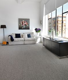 Luxurious textured loop pile wool carpet- classic elegance!