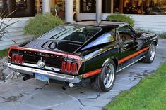 Mustang Mach 1 1969 #mustangclassiccars