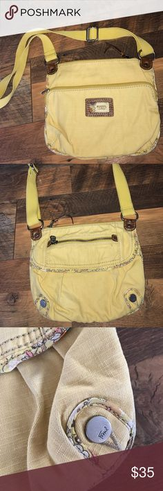 Fossil Crossbody Yellow Fossil Crossbody Fossil Bags Crossbody Bags