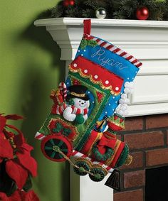 It's true that MerryStockings carries the full line of Bucilla felt Christmas stocking kits. We also have exclusive retired & discontinued Bucilla kits that you'll find no where else. With the largest inventory of kits anywhere, we know you'll find a kit Felt Stocking Kit, Christmas Stocking Kits, Felt Christmas Stockings, Christmas Crafts, Christmas Ornaments, Christmas Ideas, Christmas Decorations, Felt Embroidery, Felt Applique