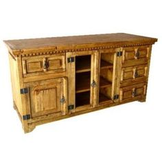 San Carlos TV Unit rustic furniture