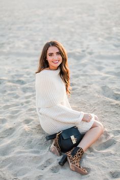 Sweater Dress with L