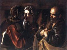 Negazione di San Pietro Caravaggio analisi