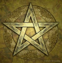 wiccan pentagram tattoos - Google Search