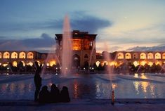 Naqsh-e Jahan Square, #Isfahan Photo by Soraya Mehrabi. National Geographic Your Shot