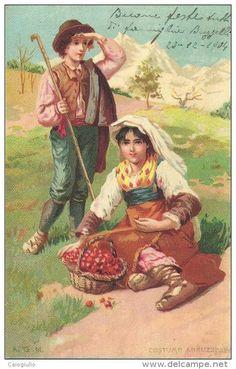 COSTUME ABRUZZESE DEL 1904