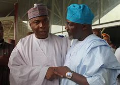 APC warns Saraki   -APC says impeachment plot against Buhari is laughable  Senator Dino Melaye and Senate president Bukola Saraki  The ruling All Progressives Congress (APC) has reacted to the reports supposing that the senators were plotting to impeach President Muhammadu Buhari describing the move as laughable. Mai Mala Buni partys national secretary in a statement urged the senators to stop this huge joke and concentrate on their primary constitutional responsibilities of lawmaking and…