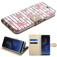 Now available on our store: MYBAT Diamante Wa... Check it out here! http://www.myphonecase.com/products/mybat-diamante-wallet-samsung-galaxy-s8-plus-case-fresh-roses?utm_campaign=social_autopilot&utm_source=pin&utm_medium=pin
