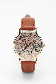 Map watch. In love