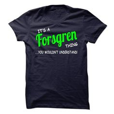 I Love Forsgren thing understand ST420 T shirts