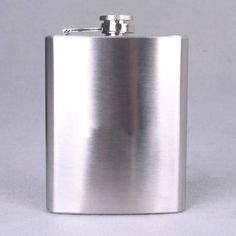 10 Piece Wholesale Lot Of 8 oz Stainless Steel Whiskey Liquor Hip Alcohol Flasks #TopShelfFlasks