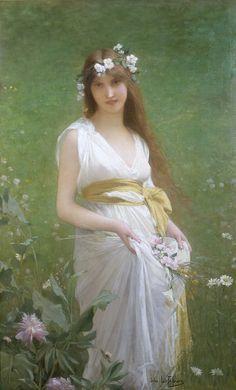 Springtime - Jules Joseph Lefebvre