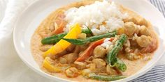 Meat-free Mondays: low-fat Thai red curry