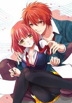Haruka y Otoya Uta no Prince sama