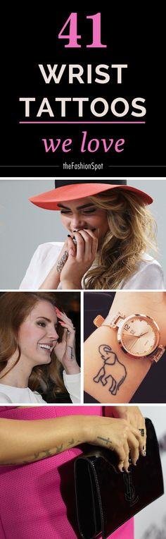 Cool wrist tattoos we love