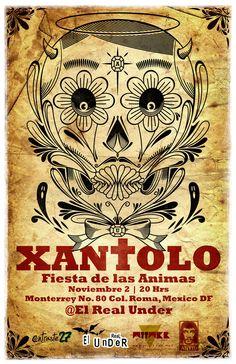 Xantolo: Fiesta de las ánimas.