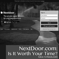 NextDoor.com: Is It Worth Your Time?