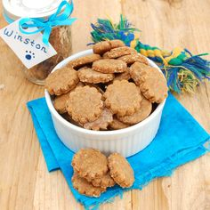 Sweet Pea's Kitchen » Peanut Butter and Banana Dog Biscuits