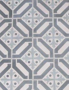 Beltile Cuban Cement Tile - - BelTile Tile and Stone including Hexagon Tile and Subway Tile Tile Design, Pattern Design, Floor Design, Border Tiles, Ideas Hogar, Hexagon Tiles, Geometric Tiles, Reno, Tile Patterns