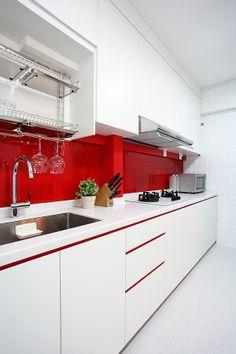 Kitchen Design - Lux Design Pte Ltd - HDB