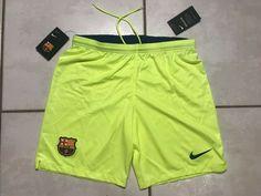 NWT NIKE FC Barcelona 2018/2019 Slim Fit Away Shorts  Men's Medium  | eBay Fc Barcelona, Brunei, St Kitts, Cambodia, Trinidad And Tobago, Slim, Nike, Shorts, Medium