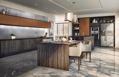 O cinza está em alta na decoração!     As cozinhas modernas nos fascinam com seus lindos design, além de que através dos móveis planejad...