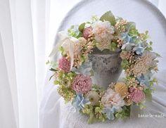 summer pastel wreath