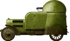 Austro Daimler Armoured car 1904