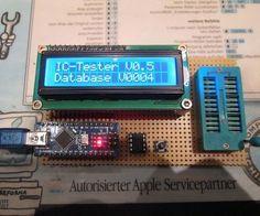 Arduino IC Tester