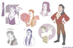 Gaston Sketches by Gidan-Kuroki.deviantart.com on @DeviantArt