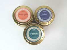 Choose any 3 candles set by PabiloCandles on Etsy